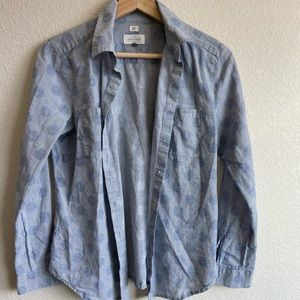 "Ann Taylor LOFT ""The Softened"" button down shirt"